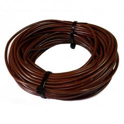 Cable unipolar 6,00mm2 x 30mts marron