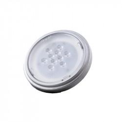 Lámpara led silverlight ar111 g53 de 12w 750lm 3000°k luz...