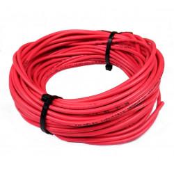 Cable unipolar 6,00mm2 x 40mts rojo