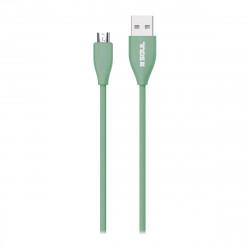 Cable usb soul soft micro usb 2 m colores varios