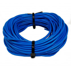 Cable unipolar 4,00mm2 x 5mts celeste