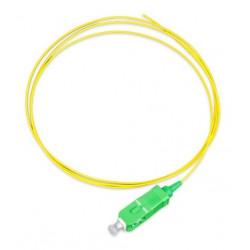 Pigtail fibra optica fo/pc monomodo g657 sm 900um