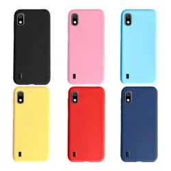 Protector de silicona case samsung m10 m105 varios colores