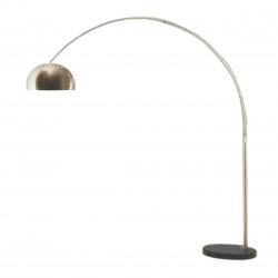 Lámpara capobianco escandinava de pie con arco pendular...
