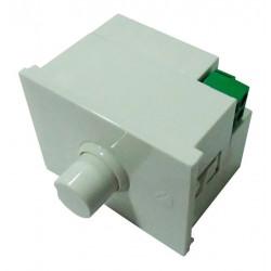 Modulo dimmer doble cambre sxxi regulador luminico blanco...