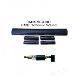 Empalme termocontraibles recto xlpe 35mm 15kv