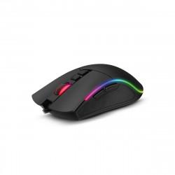 Mouse gamer soul usb 4800 dpi rgb game-xm550