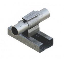 Abrazadera daisa gs 100l galvanizada para riel 44mm