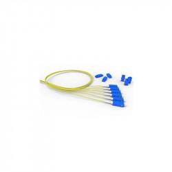 Fibra óptica furukawa 2 pigtail d0.9 + 2 cuplas mm (50.0)...