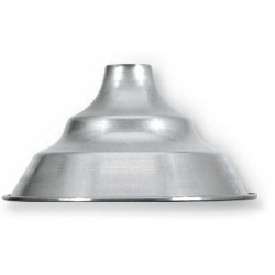 Campana industrial 691 de aluminio diametro 25cm