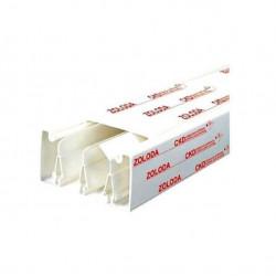 Cablecanal zoloda 100x50 blanco (tramo 2 mts)