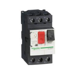 Guardamotor schneider magnetotérmico m 3p 1.6/2.5a 100ka