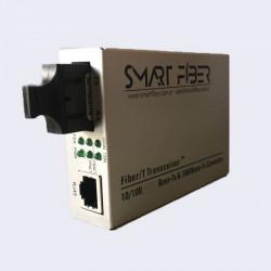 Media converter smart mc-1g-20-sc 10/100/1000 monomodo sc...