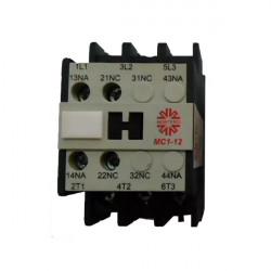 Contactor montero mc1-12 10e 1na 12a 5.5kw