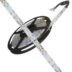 Cinta 60 led flexible 4.8w 12vcc azul por metro