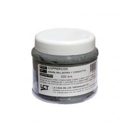 Grasa selladora y conductiva lct coppercon 500 gramos