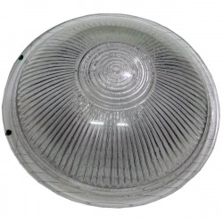 Vidrio para tortuga aluminio redonda 60w