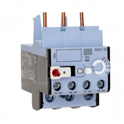 Rele termico weg rw27-2d3 5.6-8 a para montaje cwb 9-38