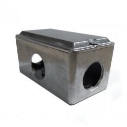 Caja multiple gc x 3/4 con tapa sin junta gas 1/2 aluminio