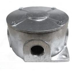 Caja gc redonda 3/4 con tapa sin junta aluminio