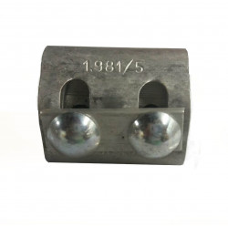 Morseto 1981/5 10/150mm2 con 2 bulones al-al