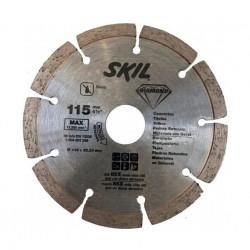 Disco de corte skil diamantado y segmentado de 115mm