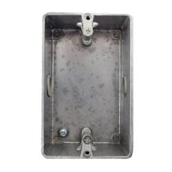 Caja gc fabricantes bastidor 1/2 gas sin tapa aluminio