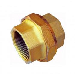 Union doble delga macho-hembra de hierro zincado 3/4 npt