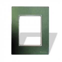 Tapa y distanciador cambre bauhaus vidrio verde
