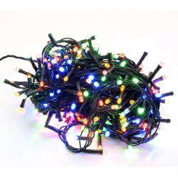 Luz navidad tira arroz 100 luces multicolor