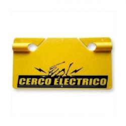 Cartel peon 921 señalizacion de advertencia amarillo