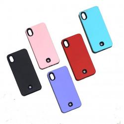 Protector reforzado soft para lg k22 k200 colores varios
