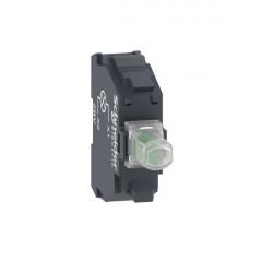 Bloque luminoso zbvb3 led 24vca/cc verde