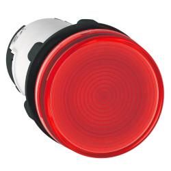Piloto luminoso schneider plástico monolítico rojo sin...