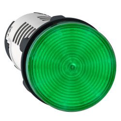 Piloto luminoso schneider plástico monolítico verde led...