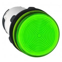 Piloto luminoso schneider plástico monolítico verde sin...