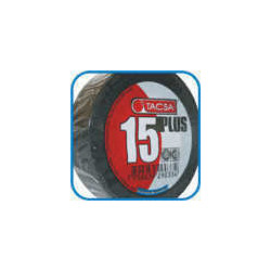Tacsa cinta aisladora pvc 19mm x 10m x 0.15mm negro