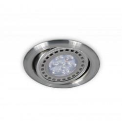 Spot san lorenzo orientable embutido ar111 platil