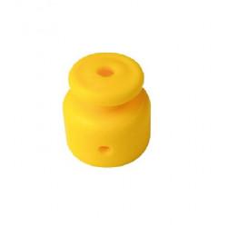 Aislador plástico peon 514 campanita carretel amarillo...
