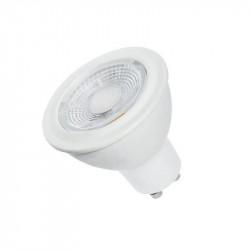 Lámpara led tbc gu10 dicroica de 7w dim 230vca luz cálida