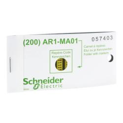 Cartera anillo referencia letra a para dz5-cable schneider