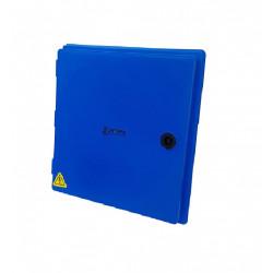 Gabinete cabrera polipropileno tapa azul 355x 365x 160 mm