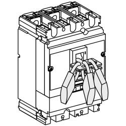 Dispositivo schneider enclavamiento movil 3 candados ns 100