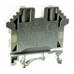 Zoloda borne de paso poliamida bpn-04  4mm montaje universal