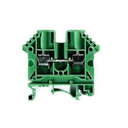 Borne de paso zoloda bpn-04 poliamida 4mm verde