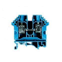 Borne de paso zoloda poliamida bpn-04 4mm azul montaje...