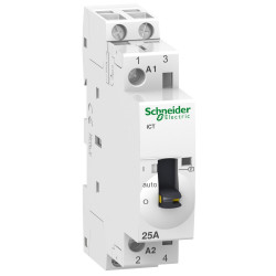 Contactor modular schnedier acti9 ict con mando manual...