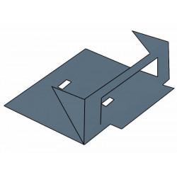 Terminal basica acometida a tablero perforada 100 mm