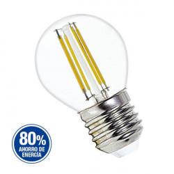 Lampara led tbc filamento antiguo gota 4w luz calida 220v...