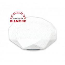 Plafon diamond tbc led 20w luz natural 230v 33cm